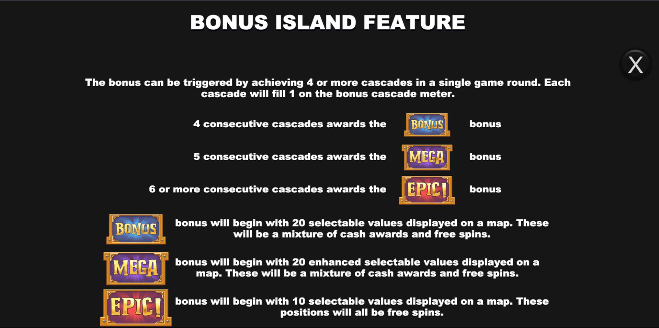 Bonus Island Bonus Feature