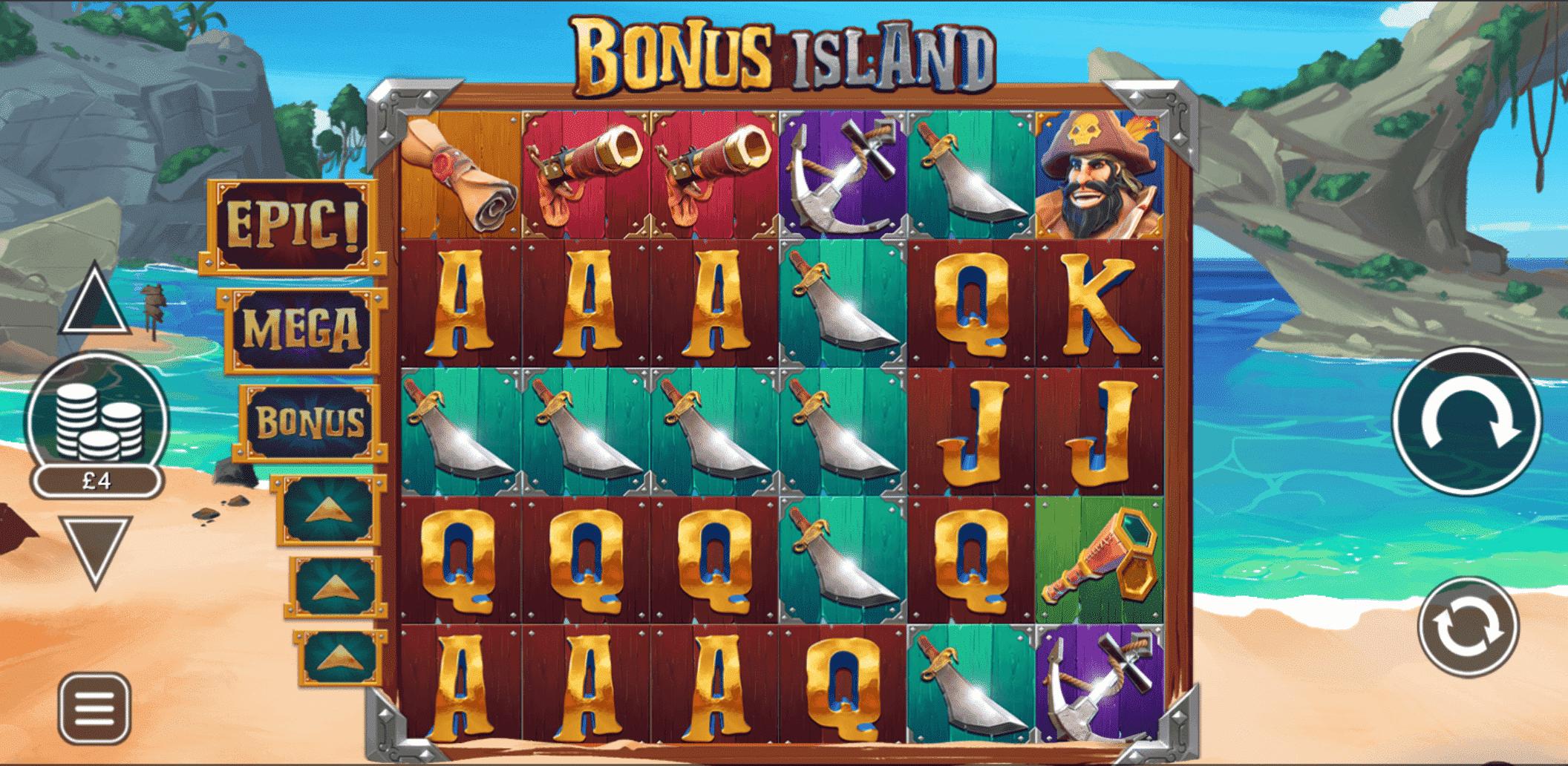Bonus Island Base Game