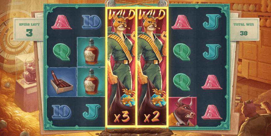 Iron Bank Expanding Wilds Bonus