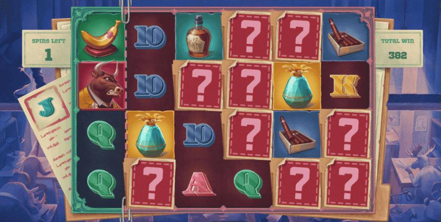 Iron Bank Mystery Symbol Bonus
