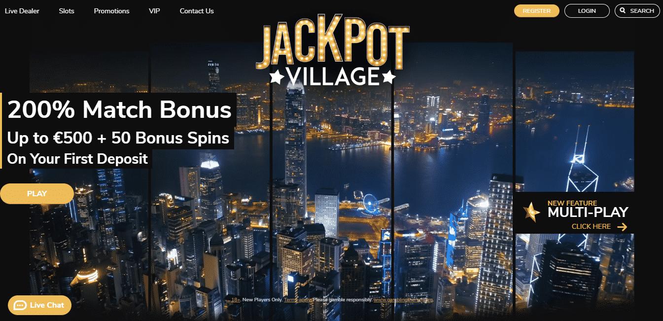 Jackpot Village Homepage