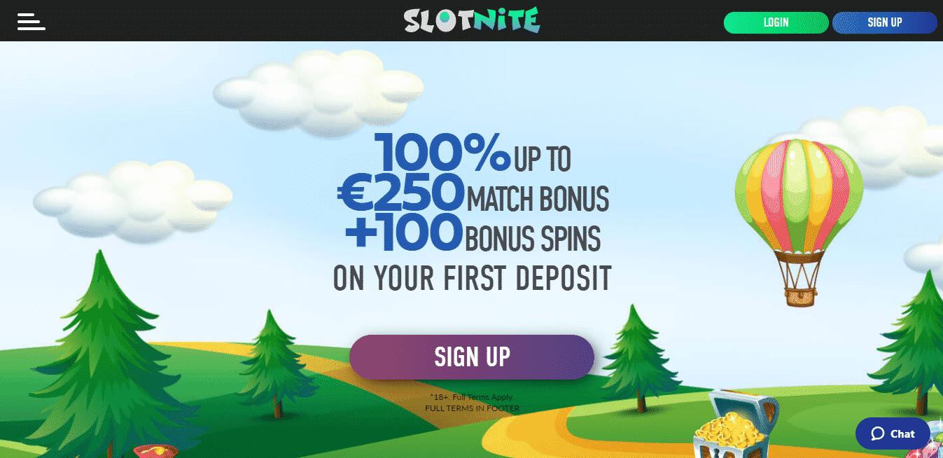 Slotnite Homepage