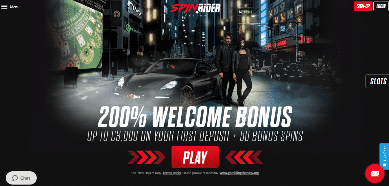Spin Rider Homepage