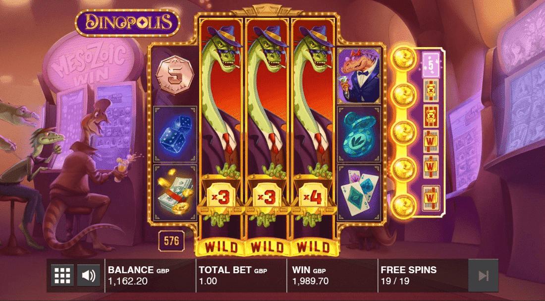 Dinopolis Bonus