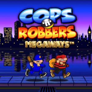 Cops and Robbers Megaways Logo