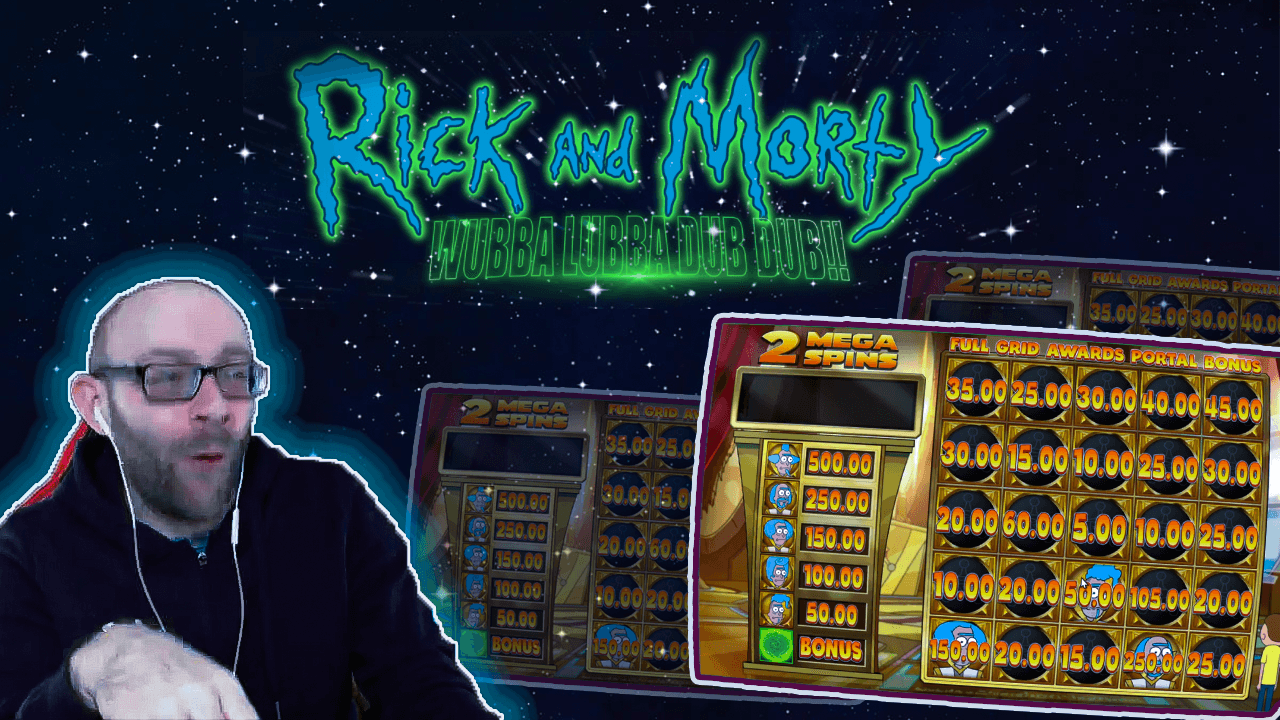 Rick and Morty Slots: Wubba Dubba Dub Dub