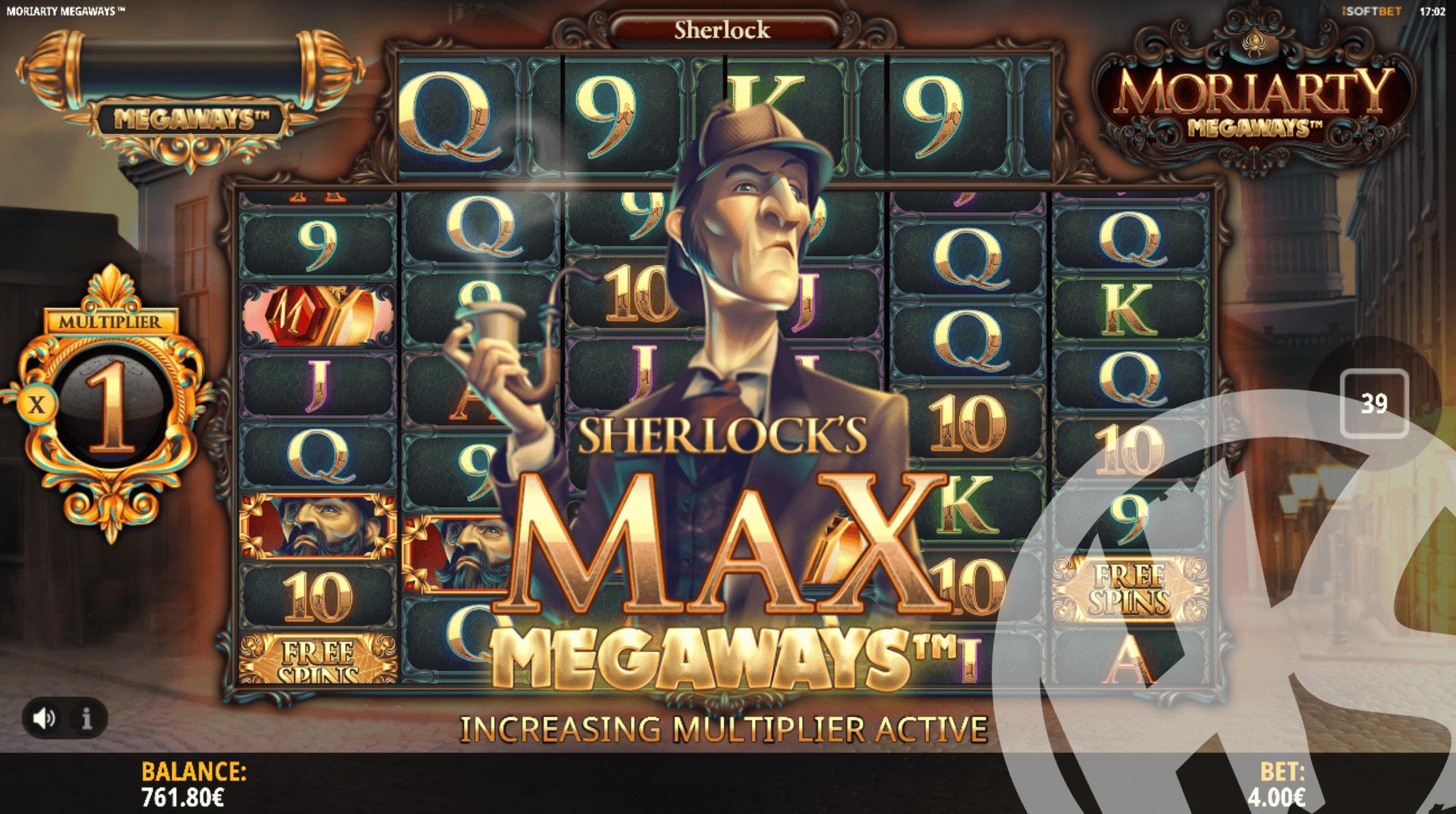 Sherlock Max Megaways