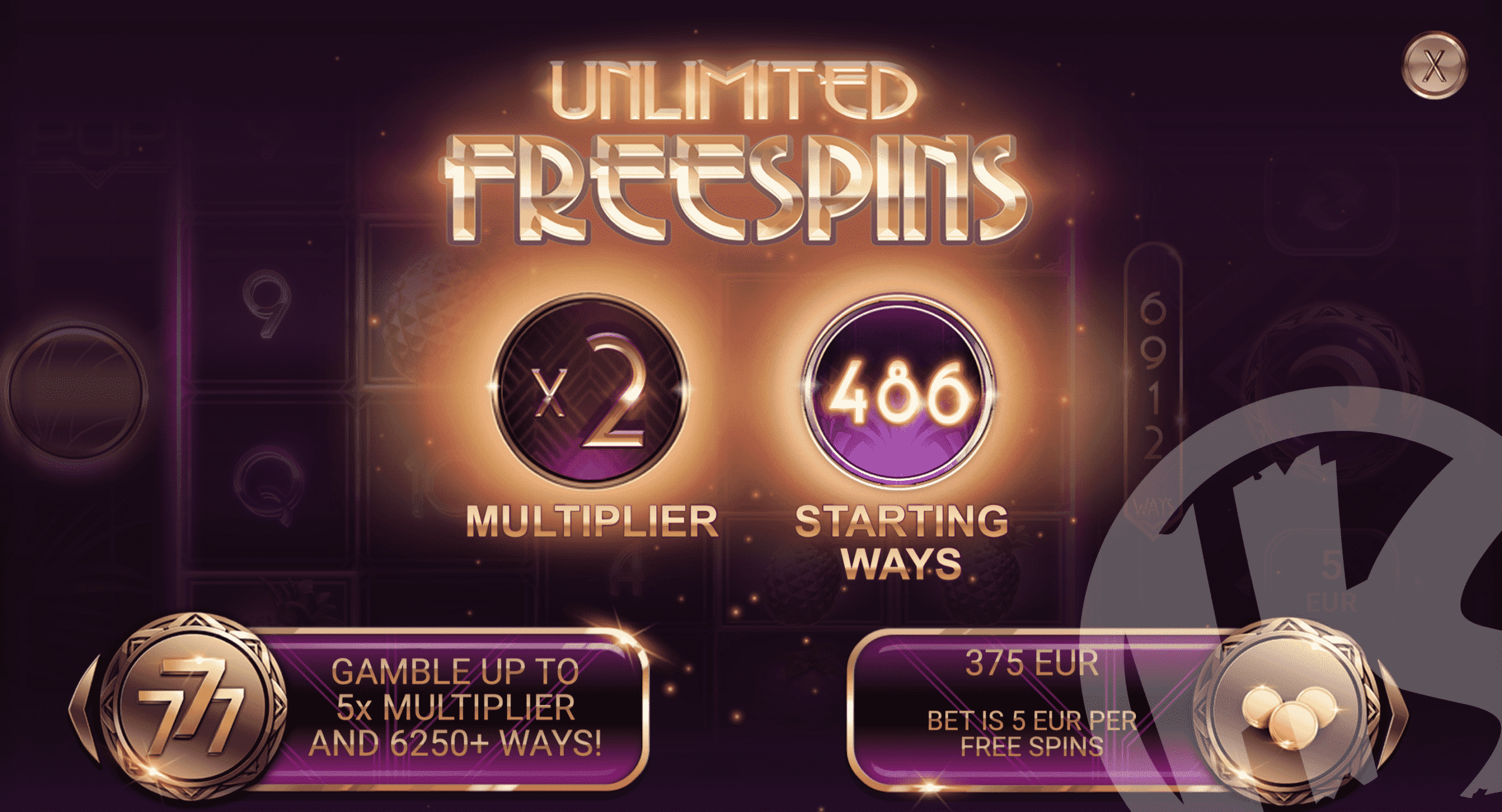 Unlock All Reels To Full Height To Trigger Free Spins
