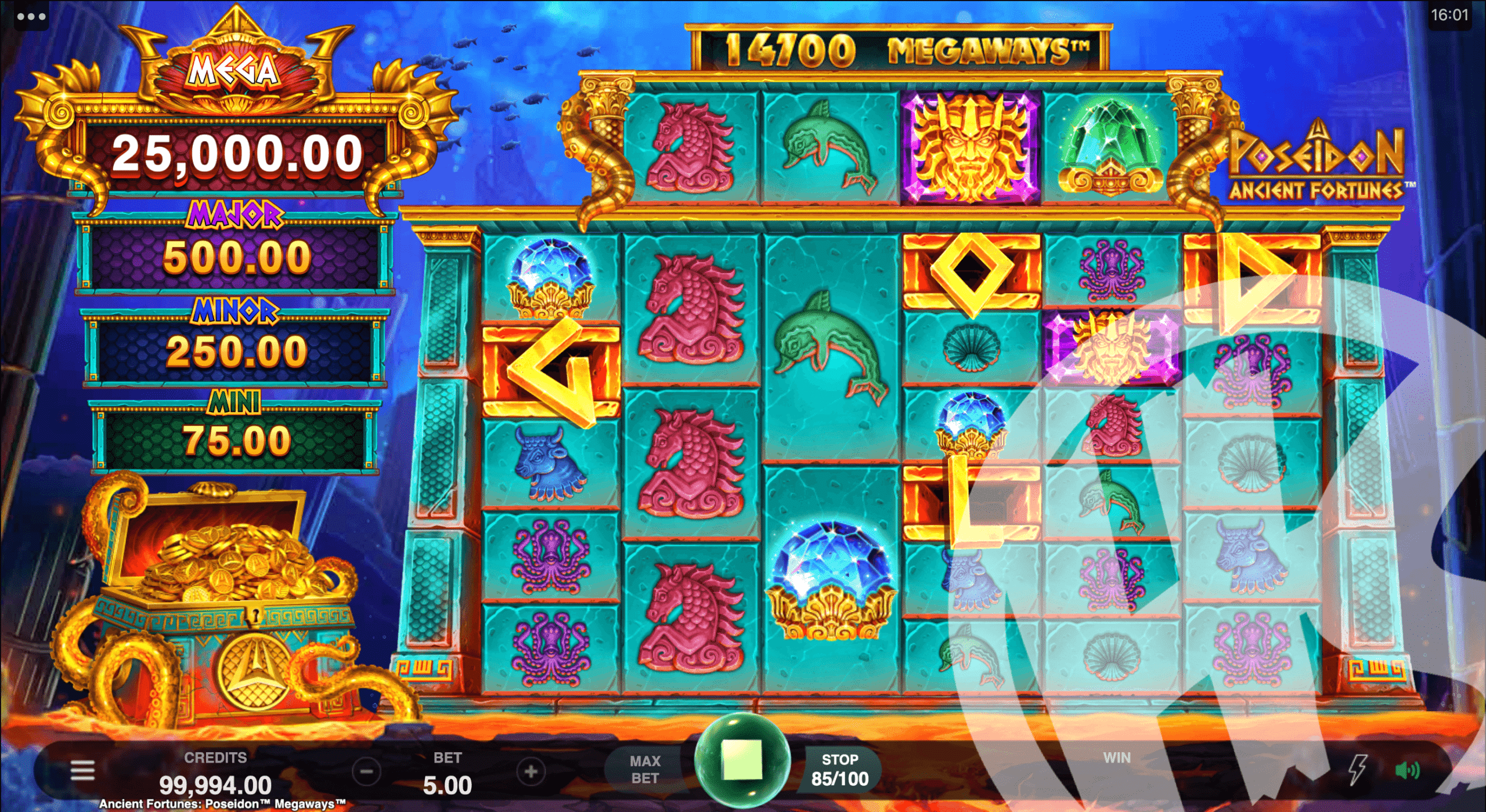 GOLD Scatters Unlock Free Spins