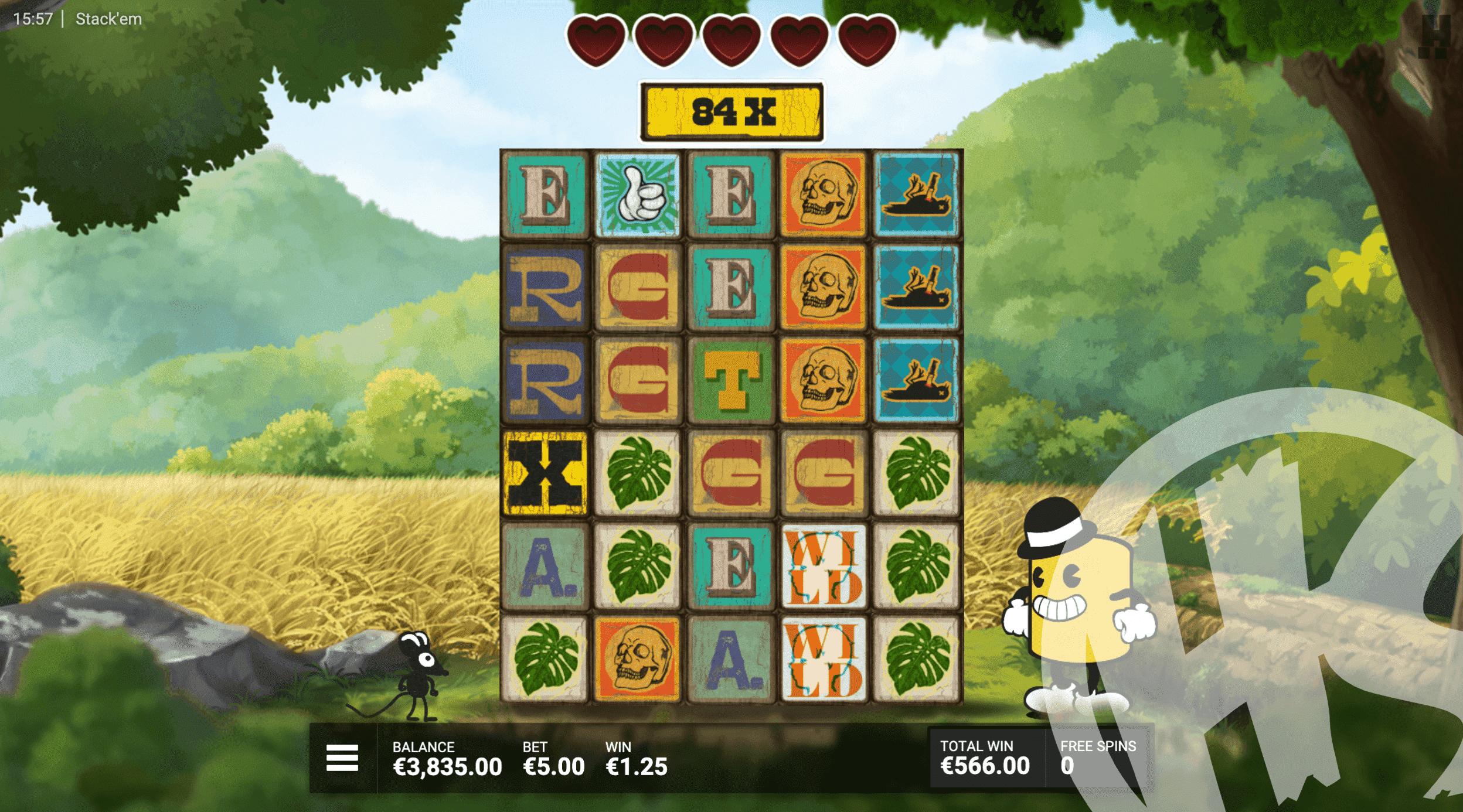 Stack 'Em by Hacksaw Gaming