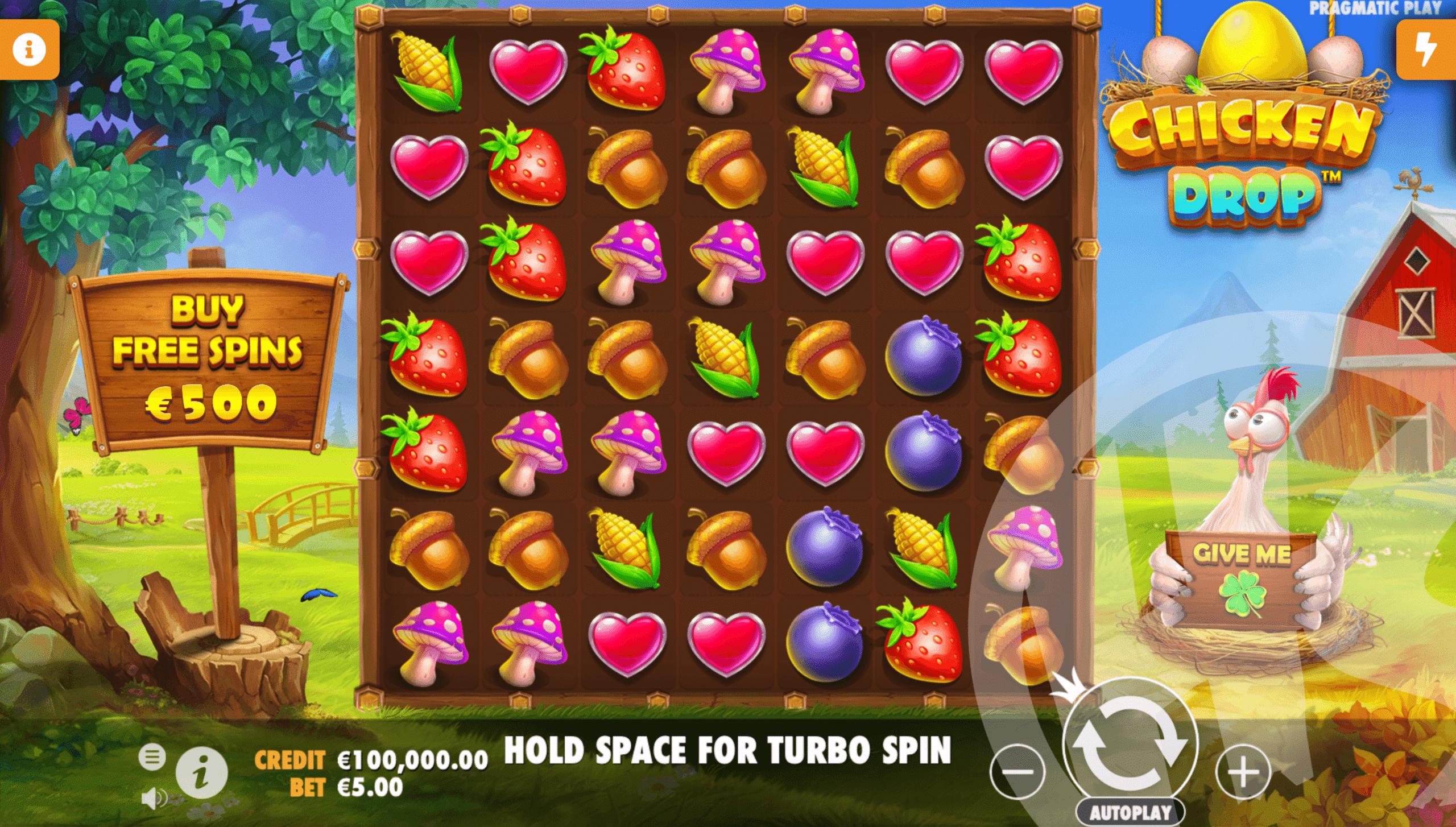 Chicken Drop Base Game