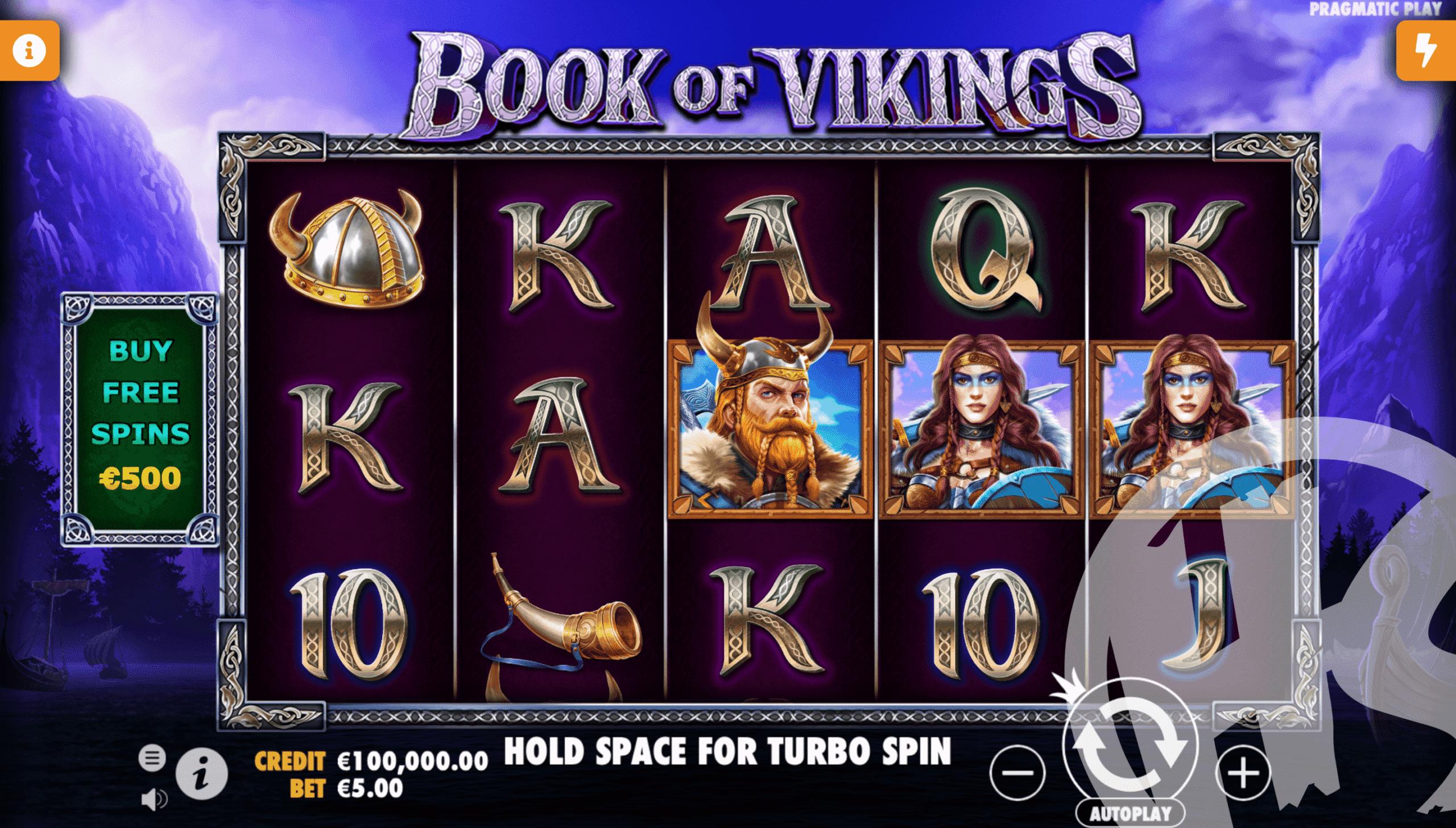 Book of Vikings Base Game