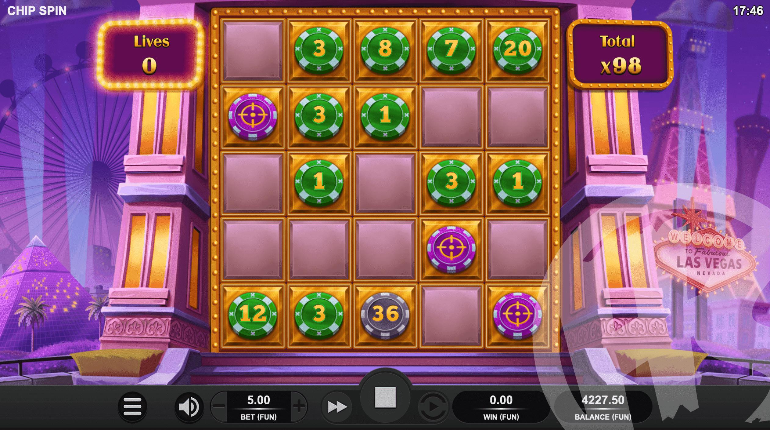 Chip Spin Bonus Game