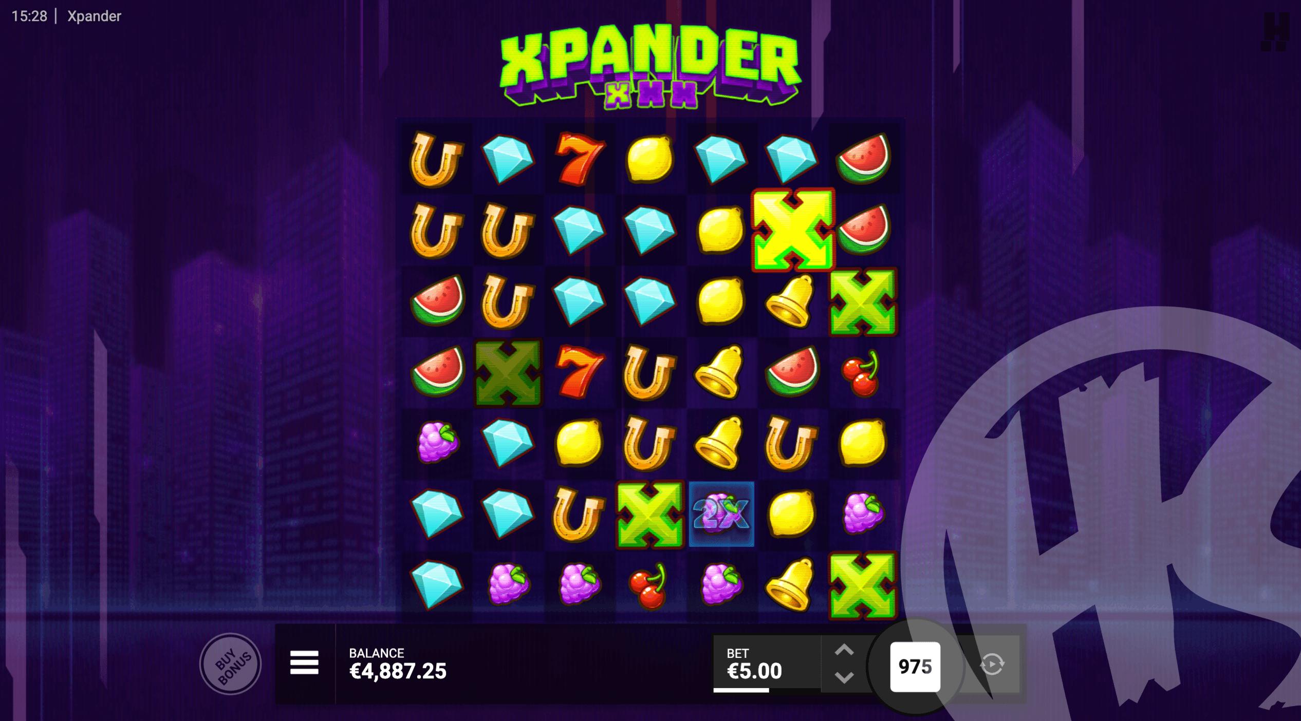 Xpander Grow Symbols