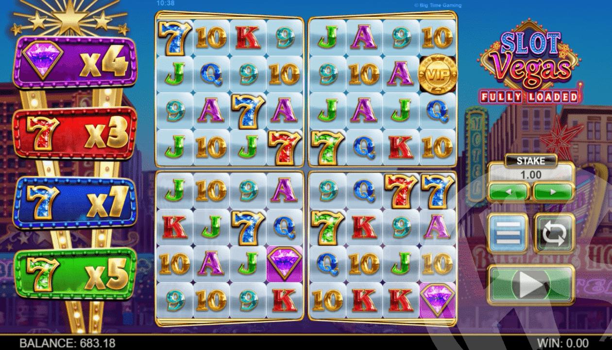 Slot Vegas Fully Loaded Base Game
