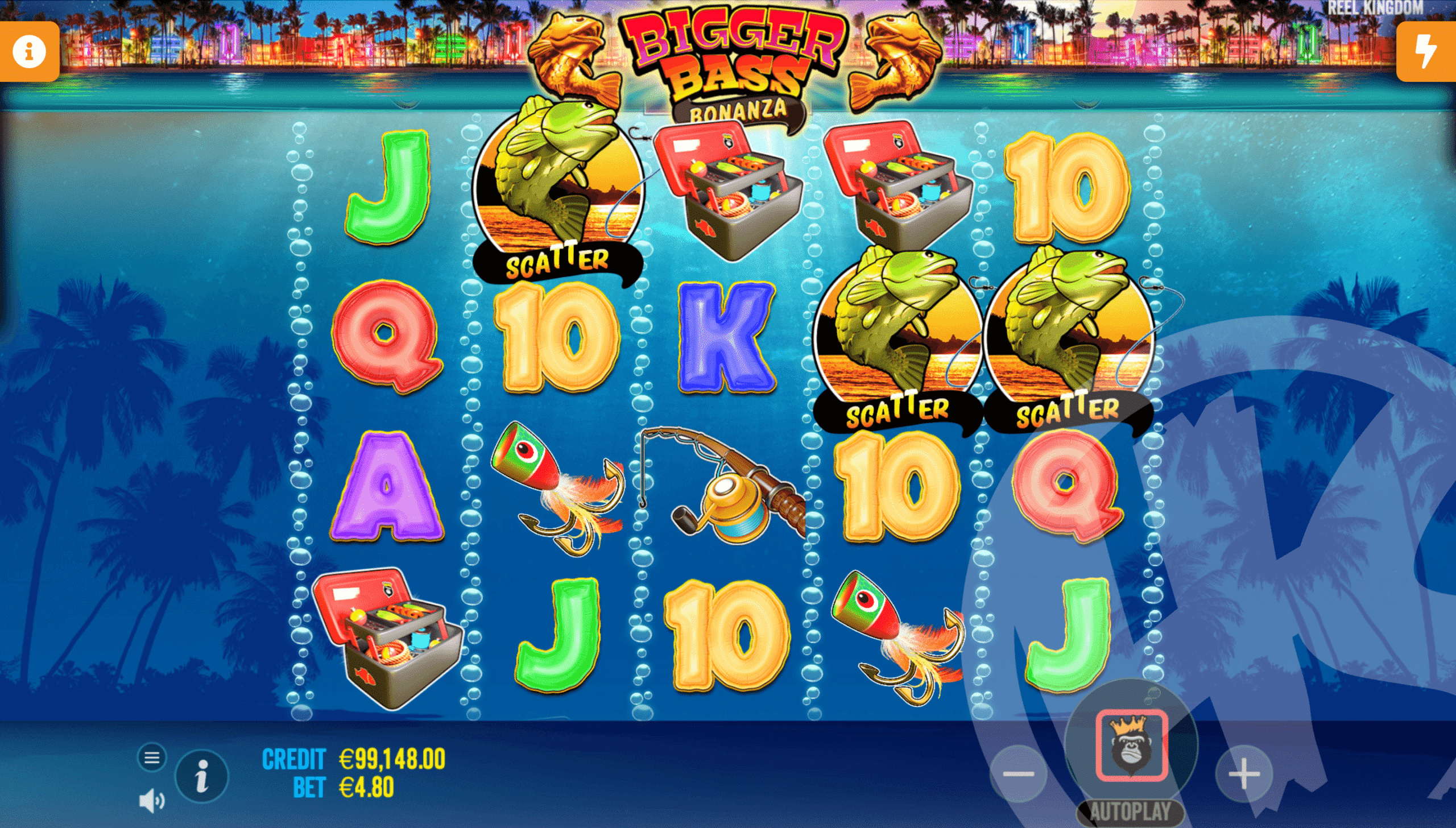 3 Scatters Triggers Free Spins