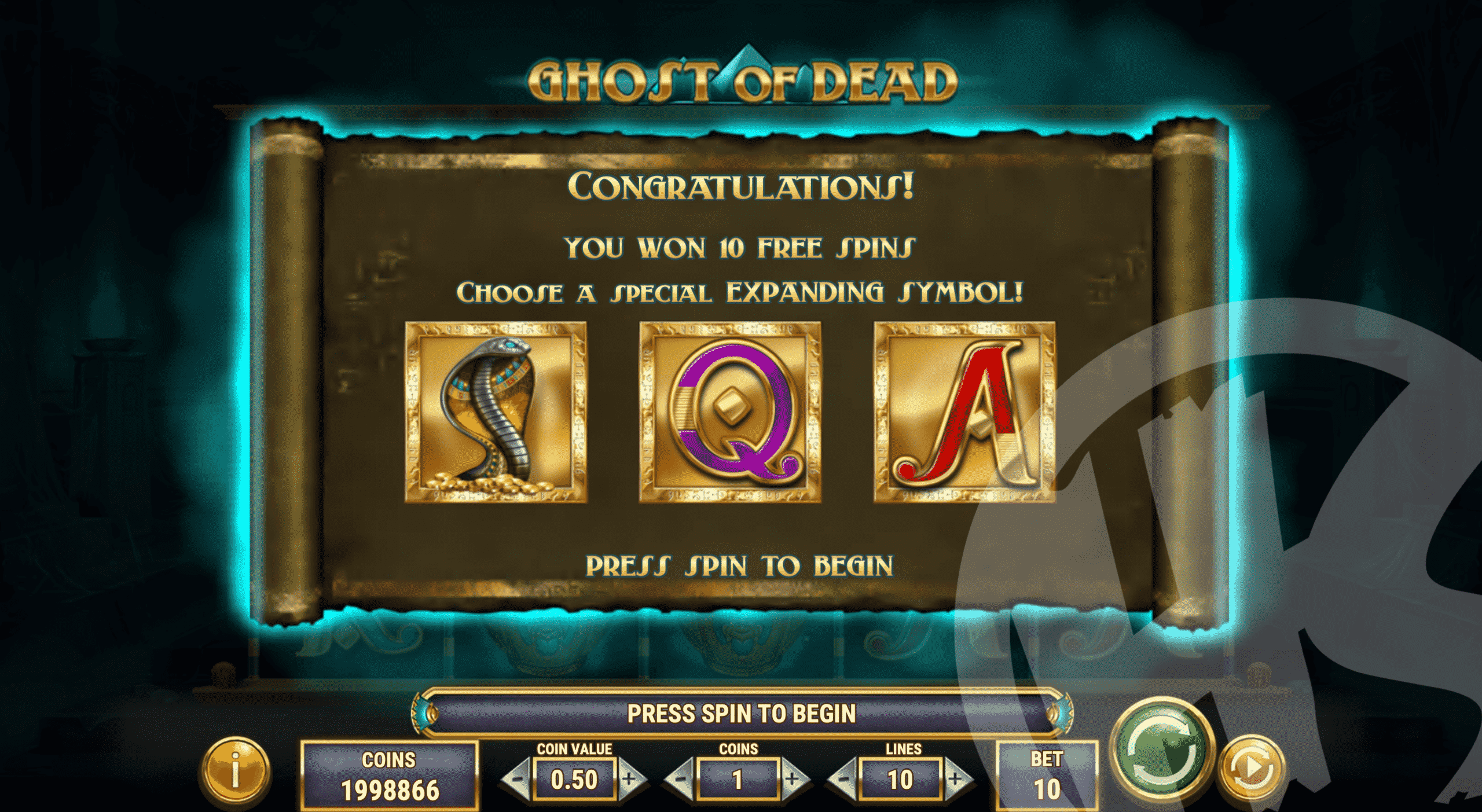 Players Get a Choice of Symbol During Free Spins