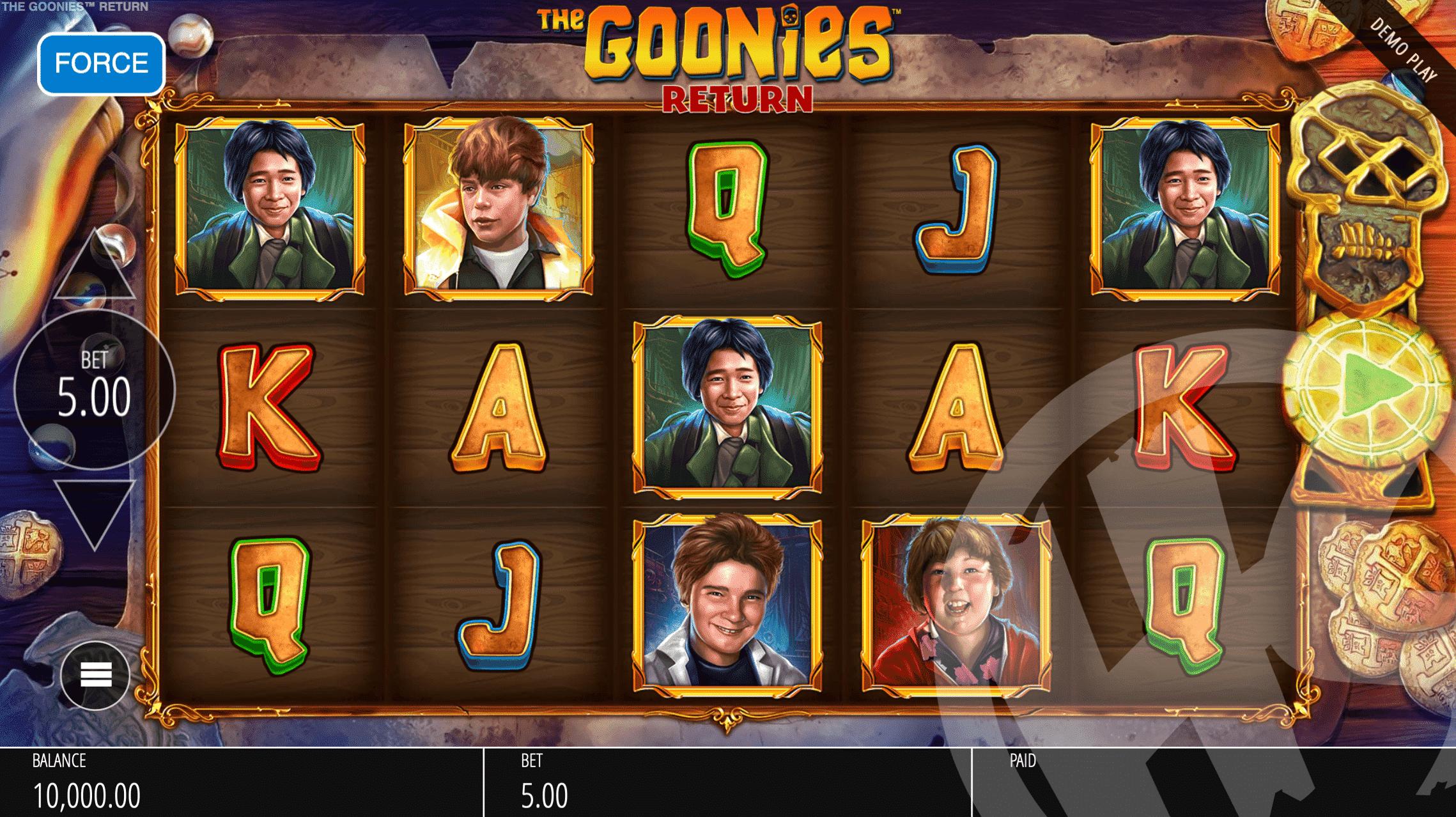 The Goonies Return Base Game