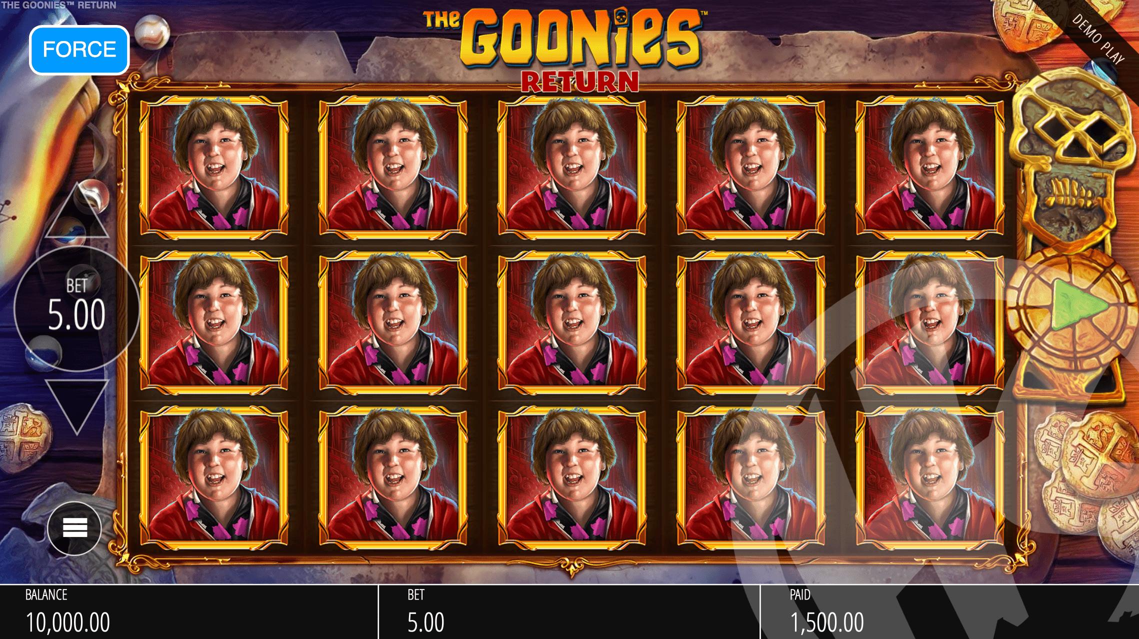 The Goonies Return Red Key W-Invention Reels