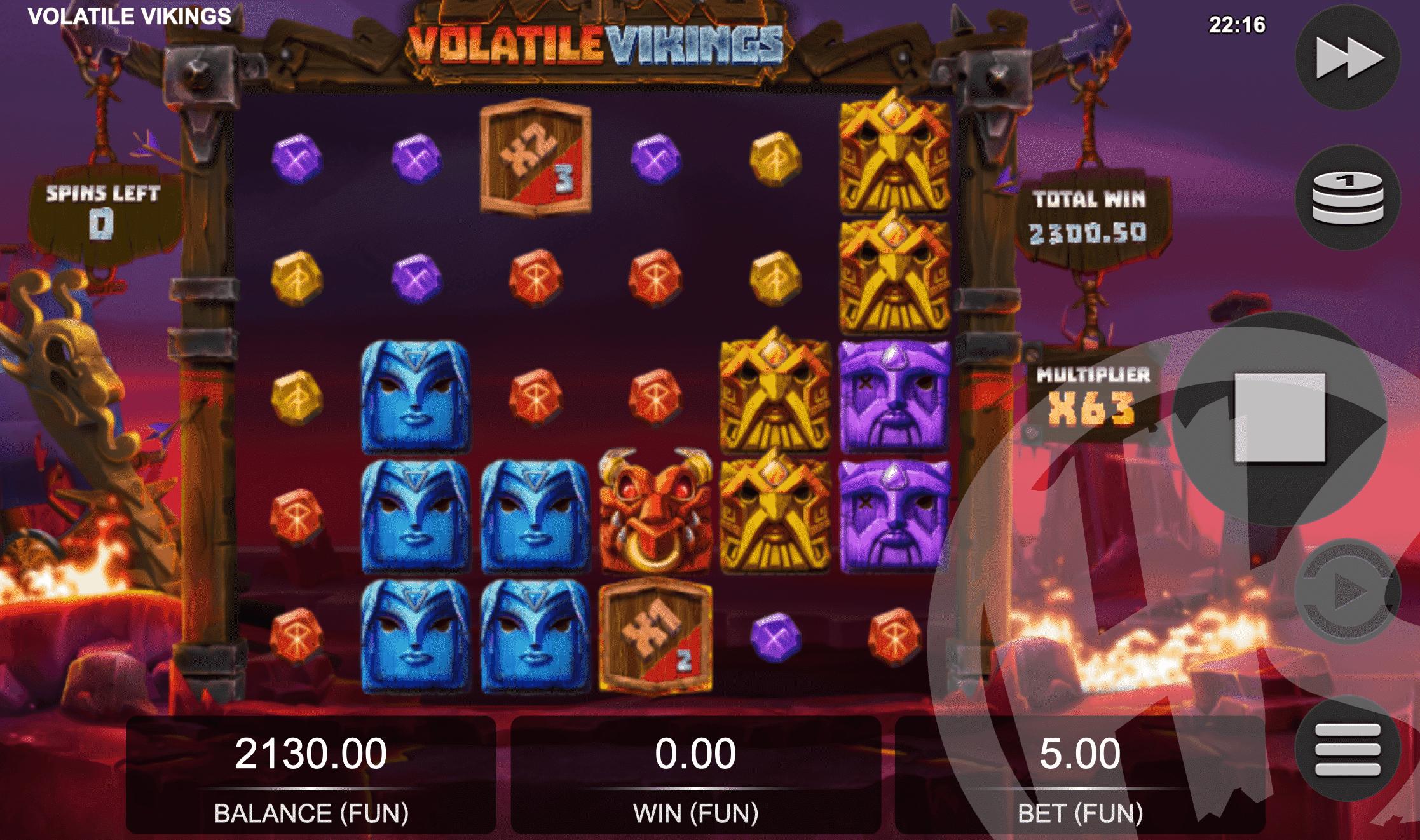 Volatile Vikings Free Spins
